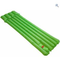 Hi Gear Inflatable Reeded Airbed - Colour: EMERALD