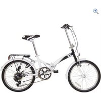 Compass Northern Folding Bike - Colour: White And Black