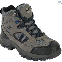Freedom Trail Lowland II WP Mid Boys Walking Boot - Size: 12 - Colour: Grey / Blue