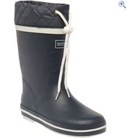 Regatta Hamish Junior Welly - Size: 2 - Colour: NAVY WHITE