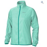 Marmot Womens Trail Wind Jacket - Size: L - Colour: ICE GREEN