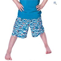 Trespass Boys Dangelo Shorts - Size: 11-12 - Colour: MARINE PRINT