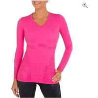 Shock Absorber Ultimate Body Support Compression Long Sleeved Top - Size: XS - Colour: Pink