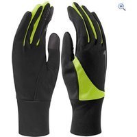 Nike Dri-FIT Tailwind Mens Running Gloves - Size: XL - Colour: BLACK-VOLT