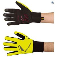 Northwave Power Long Gloves - Size: L - Colour: Black-Fluo Yell