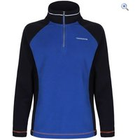 Craghoppers Union Half-Zip Kids Microfleece - Size: 5-6 - Colour: NAVY-COBALT