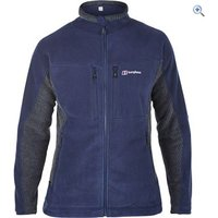 Berghaus Lawers Mens Fleece Jacket - Size: XXL - Colour: DUSK-CARBON