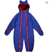 Regatta Kids Pudgie Quilted Onesie - Size: 6-12 - Colour: SURFSPRAY