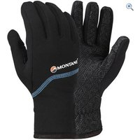 Montane Power Stretch Pro Grippy Gloves - Size: S - Colour: Black