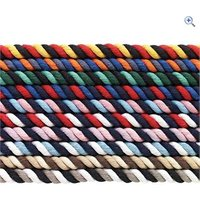 Cottage Craft Multi Coloured Deluxe Lead Rope - Colour: BLACK-GREY-WHIT