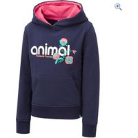 Animal Mollie Mai Kids Hoody (Sizes 2-6) - Size: 3-4 - Colour: MIDNIGHT BLUE