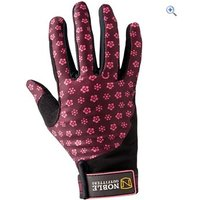 Noble Outfitters Perfect Fit Gloves - Size: 9 - Colour: WINE-DAISY