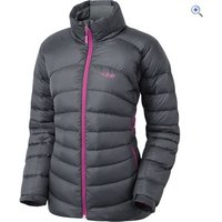 Rab Cirque Womens Down Jacket - Size: 10 - Colour: Grey And Black