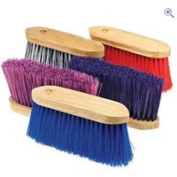 Cottage Craft Flick Brush (Mixed Bristle) - Colour: Navy-Pink