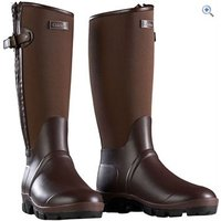 Caldene Bramham Country Wellington - Size: 6 - Colour: Chocolate Brown