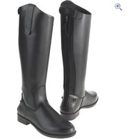 Just Togs Classic Tall Riding Boots (Wide) - Size: 8 - Colour: Black