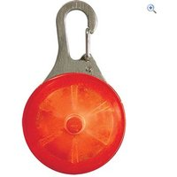 Nite Ize Splotlit LED Carabiner Light (Red) - Colour: Red