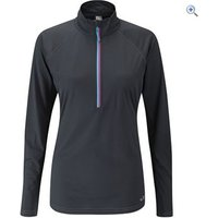 Rab Womens Interval Long Sleeve Tee - Size: 8 - Colour: Black
