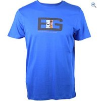 Bear Grylls by Craghoppers Mens Bear Printed Tee - Size: XL - Colour: Blue