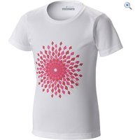 Columbia Kids Sunny Burst Graphic Tee - Size: M - Colour: White