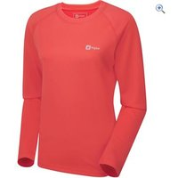Hi Gear Regulate Womens Tech Tee (Long Sleeve) - Size: 18 - Colour: Coral Pink