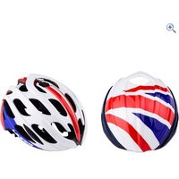 Lazer Blade Cycling Helmet (with British Aeroshell) - Size: L - Colour: RED-WHITE-BLUE