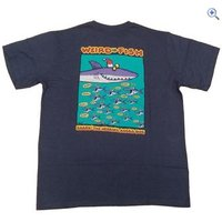 Weird Fish Shark the Herring T-Shirt - Size: M - Colour: Black