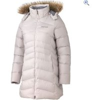 Marmot Montreal Womens Down Insulated Coat - Size: XXL - Colour: WHITESTONE