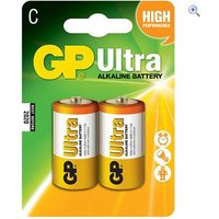 GP Batteries Ultra Alkaline Batteries (2 x C)