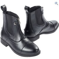 Just Togs Womens Essential Zip Boot - Size: 31 - Colour: Black