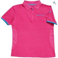 Harry Hall Hatfield Womens Polo Shirt - Size: 10 - Colour: Pink