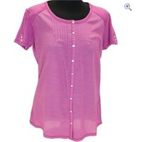 Kuhl Womens Geneva Shortsleeve Top - Size: S - Colour: WILD ROSE