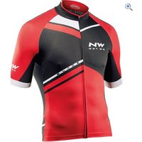 Northwave Blade SS Jersey - Size: M - Colour: Red And Black