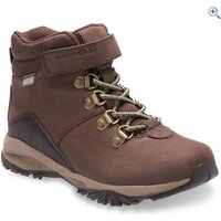 Merrell Big Kids Alpine Waterproof Boot - Size: 6 - Colour: Brown