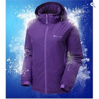The Edge Womens Elinar Elite Ski Jacket - Size: 10 - Colour: Purple