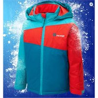 The Edge Nuke Boys Waterproof Ski Jacket - Size: 13 - Colour: TEAL-POP-TURQ