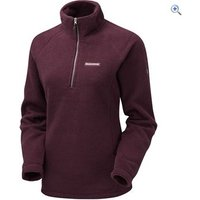 Craghoppers Women's Witney Textured Fleece - Size: 10 Colour: DARK RIOJA RED