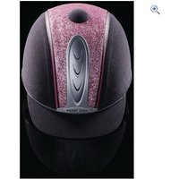 Harry Hall Legend Cosmos Riding Hat - PAS015 - Size: 73-8 - Colour: Grey Pink