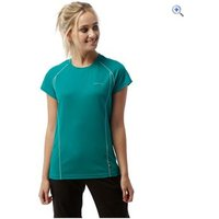 Craghoppers Vitalise Womens Base T-Shirt - Size: 10 - Colour: BRIGHT TURQUOIS