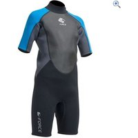 Gul G-Force 3mm Flatlock Shorti Junior Wetsuit - Size: L - Colour: BLACK-ZAFER
