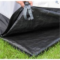 Hi Gear Gobi 4 Tent Footprint - Colour: Dark Grey