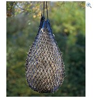 Shires Fine Mesh Hay Net - Large - Colour: Black / Red