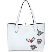 Guess Bobbi Shopper With Embroidery
