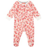 Joules Baby Girls Ditsy Floral All In One With Feet, Pink