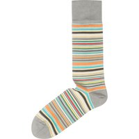 5057381957350 - Men's Paul Smith Multi Stripe Sock, Grey