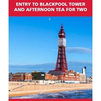 Red Letter Days Entry to Blackpool Tower and Afternoon Tea for 2, Black