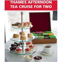 Red Letter Days Thames afternoon tea cruise for two, Red