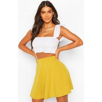 Colour Pop Skater Skirt - lime
