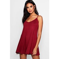 Swing Style Playsuit - berry