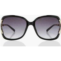 Large Frame Sunglasses - black